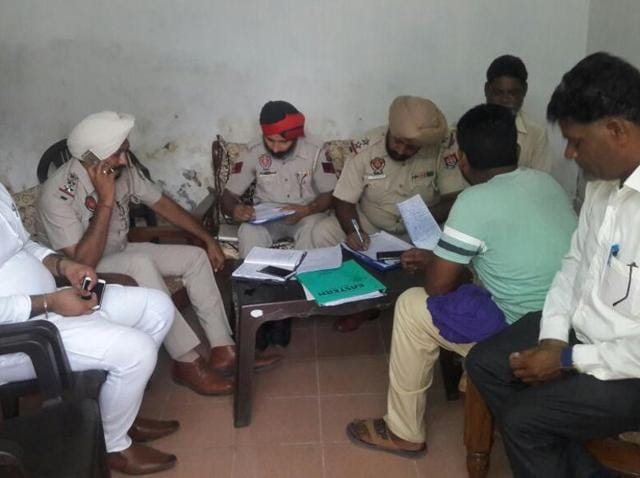 Phillaur DSP Harvinder Singh Bhalla and Goraya police station SHO Jarnail Singh rushed to the crime spot, accompanied by forensic experts.