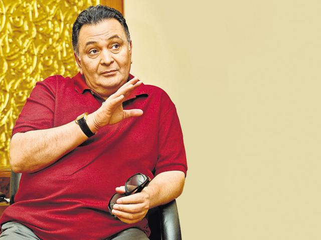 Actor  Rishi Kapoor says he puts up everything in a light vein.
