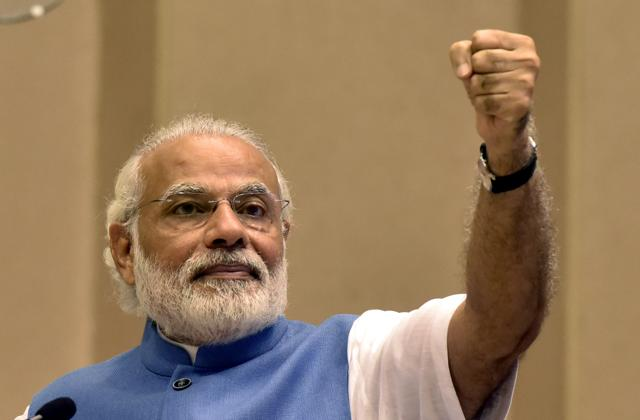 On the odd occasion when Mr Modi has spoken — as he did to reassure Christians or to distance himself from Sadhvi Niranjan Jyoti's foolish comments — many feel he was forced to do so