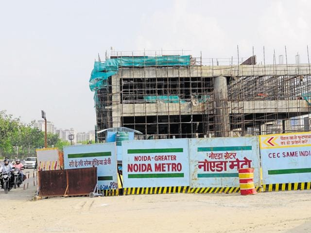 The Delhi Metro Rail Corporation has been providing expertise and services to its Noida counterpart for its first project — the 30-km Noida-Greater Noida metro link.