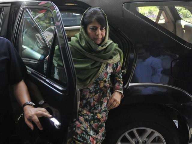 Contradicting Mehbooba Mufti's stand, the BJP said the security forces had knowledge of Hizbul terrorist Burhan Wani's presence at the encounter site.