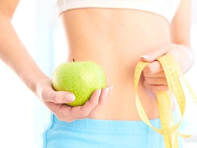 Maintain a balanced diet to stay slim. (Shutterstock photo)