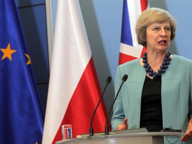 In her previous role as home secretary, May had piloted the Modern Slavery Act in 2015.