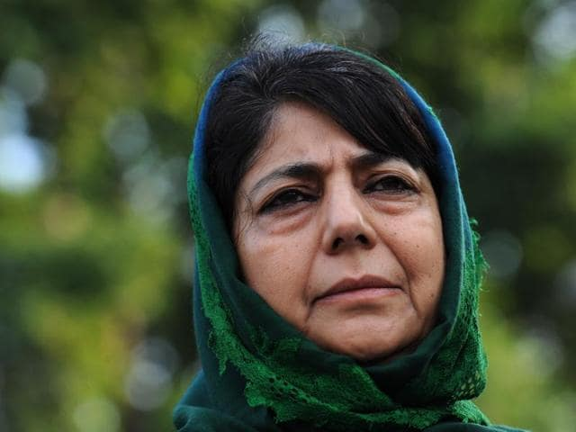 J&K chief minister Mehbooba Mufti skipped a symposium on Kashmir organised in New Delhi by RSS-affiliated forums.