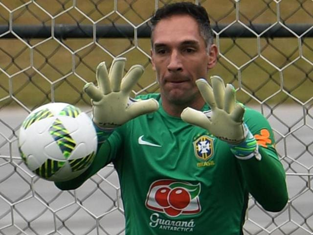 Fernando Prass,Brazil football,Rio 2016