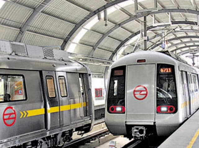 A man allegedly committed suicide by jumping in front of a Metro train on Sunday.