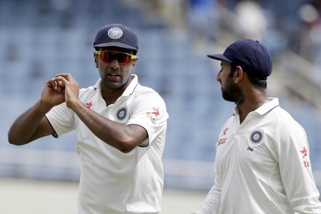 India's Lokesh Rahul is unbeaten on 75 at stumps, Day 1.
