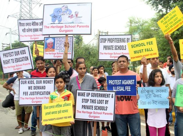Parents said they are upset with the state government for allowing at least four city schools to go ahead with the fees hike by staying an order of the Fee and Fund Regulatory Committee (FFRC). The FFRC had, on May 2, stayed any fees hike by schools until the final audit results were declared.