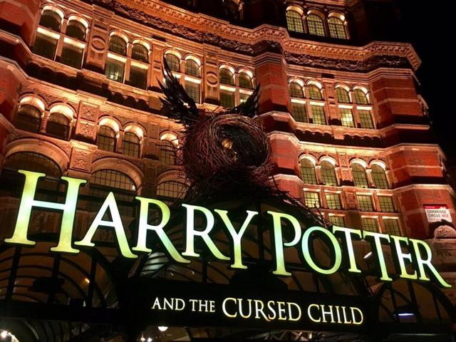 Harry Potter and the Cursed Child sends you back in time.