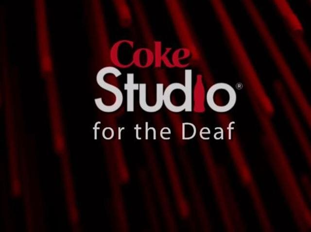 The special Coke Studio program tried to make music accessible to the deaf community of Pakistan.