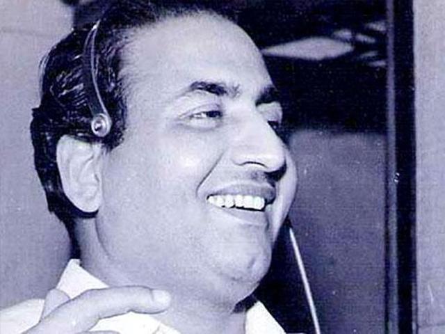 Legendary playback singer Mohammed Rafi