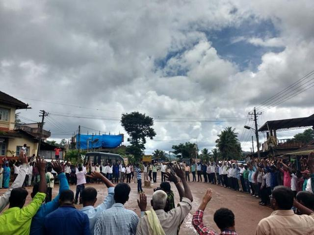 Hundreds of Dalit villages and activists in Karnataka have come together over the past week after alleged Bajrang Dal members thrashed five members of a Dalit family last month in a village in Chikmagulur district.
