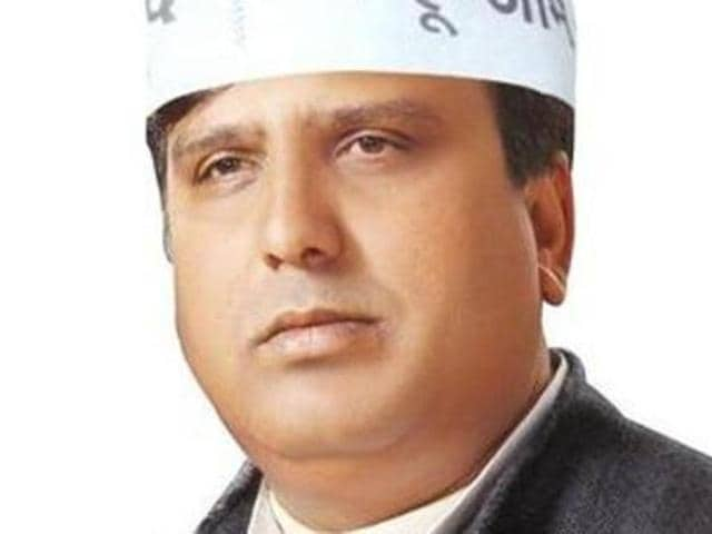 AAP legislator Sharad Chauhan was arrested in connection with the alleged suicide of a woman party worker.