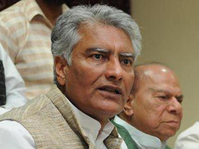 Congress vice-president and chief spokesperson Sunil Jakhar