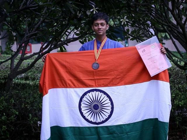 Aalok Sathe, who won the Bronze medal at International Linguistics Olympiad competed with 170 students from 30 different countries.