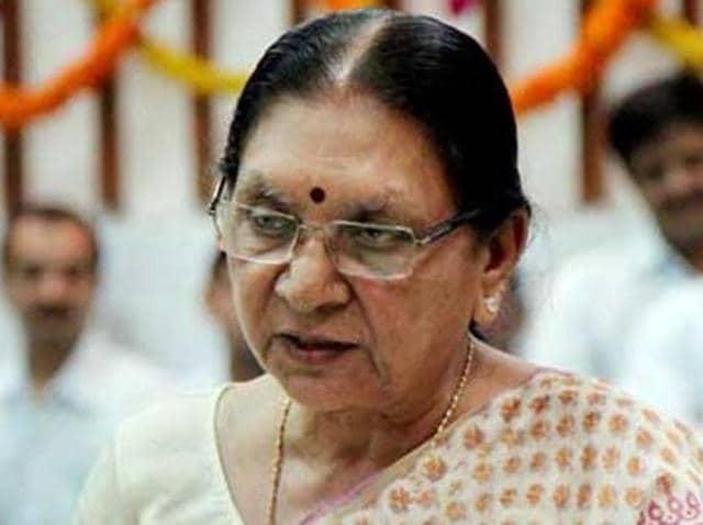 Anandiben Patel,Gujarat CM,BJP