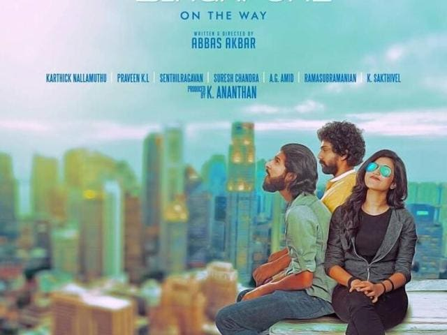 Chennai to Singapore has music by Ghibran and is directed by Abbas Akbar.