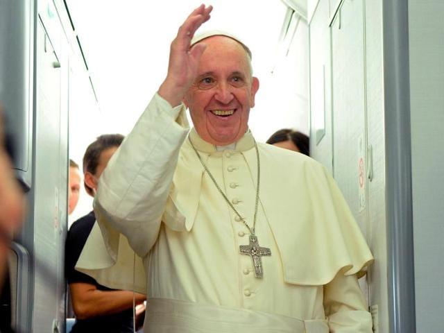 Pope Francis,Vatican,papal plane