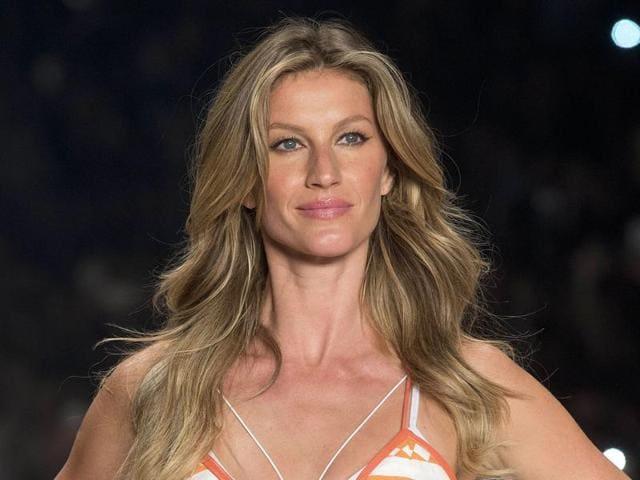 A file photo of Brazilian supermodel Gisele Bundchen.