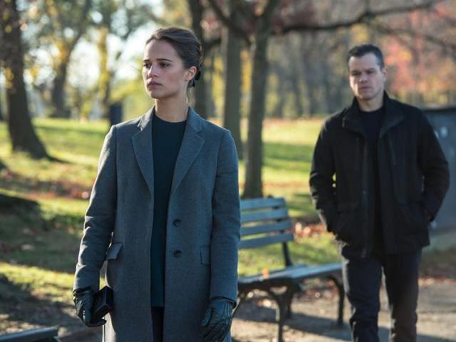 Alicia Vikander stars in Jason Bourne opposite Matt Damon.