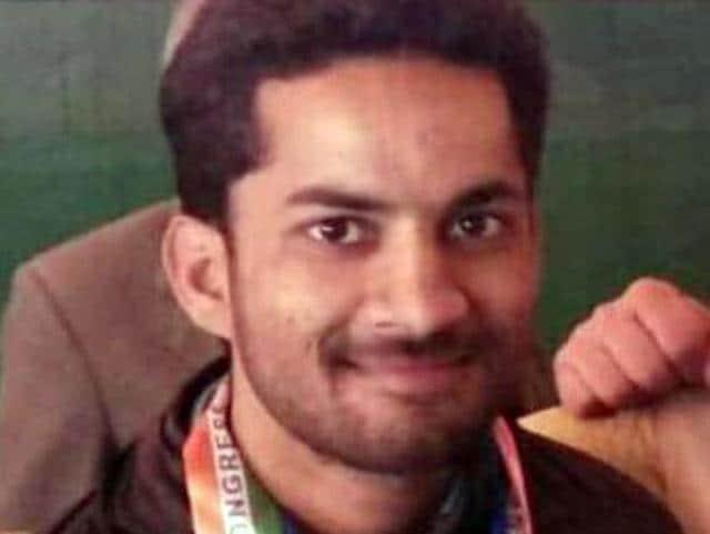 Youth Congress leader Arun Kumar alias Anu