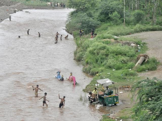 Even as the deputy commissioner of police imposed Section 144 ( prohibition of assembly of more than 5 people) of the Code of Criminal Procedure (CrPC) around the area, 'irresponsible' merry-making on the banks of the river continued on Sunday as well.