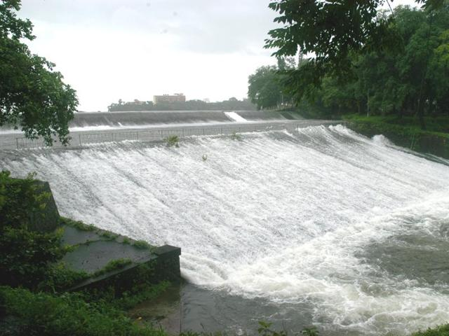 Out of a total of seven lakes supplying water to Mumbai, this is second lake, which started overflowing this monsoon.