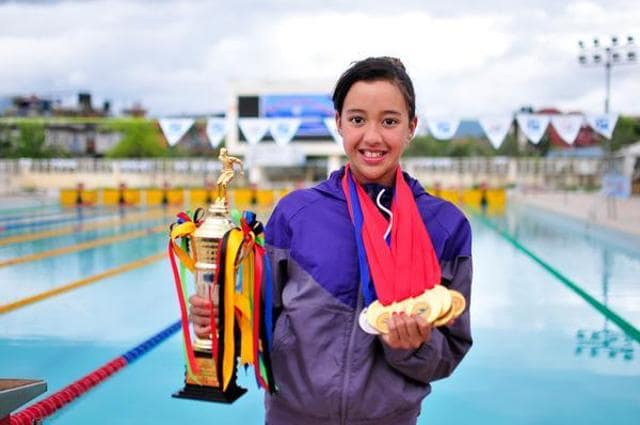 Nepal swimmer Gaurika Singh will be the youngest competitor at the Olympic GAmes this year.
