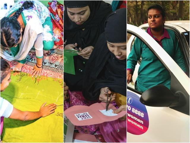 Making  rural women shine: Empowerment  through skills training