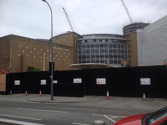 A file photo of BBC Television Centre.