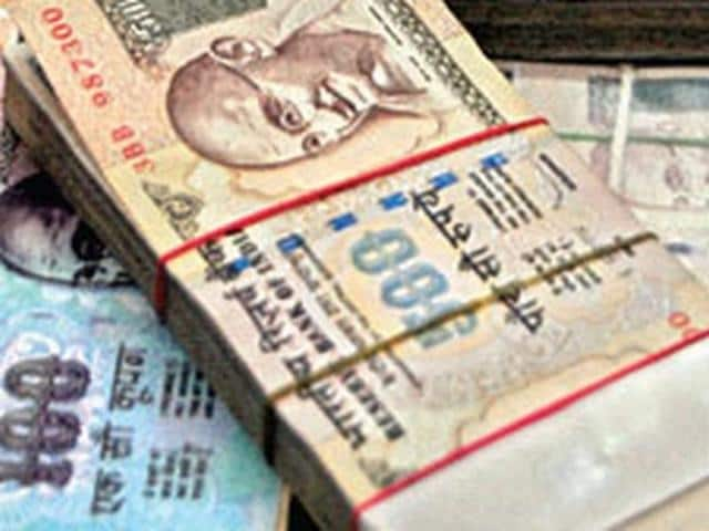 The manager deposited Rs 49,300 in his account and then Rs 10.7 lakhs in different places in the subsequent month to pay for a 'fine' that the lady had asked him to pay