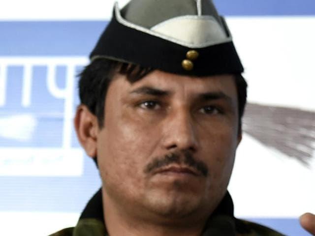 Surender Singh, Aam Aadmi Party (AAP) legislator from Delhi Cantt