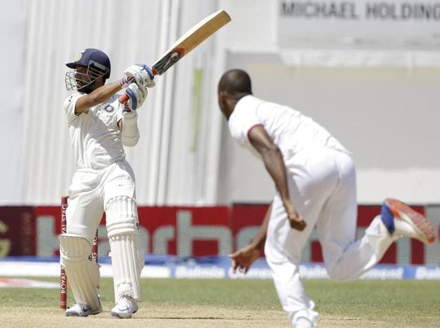 Ajinkya Rahane's outing against West Indies on Day 3 of the second Test was not perfect, but showed the player always puts his team first.