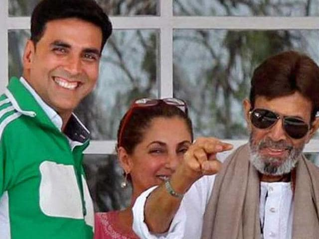 Akshay Kumar refused to drag on the Naseer-Rajesh controversy.