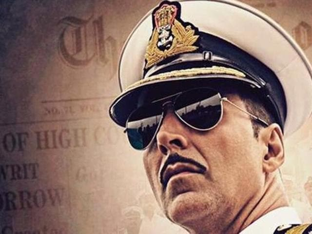 Bollywood actor Akshay Kumar, who will be seen in the role of a naval officer in Rustom, has said wearing a uniform brought about a change in his style of walking.