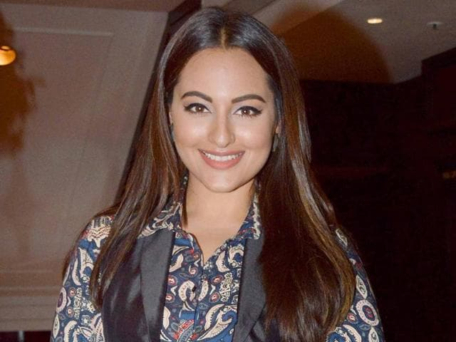 Sonakshi Sinha is excited about singing live at a city college.