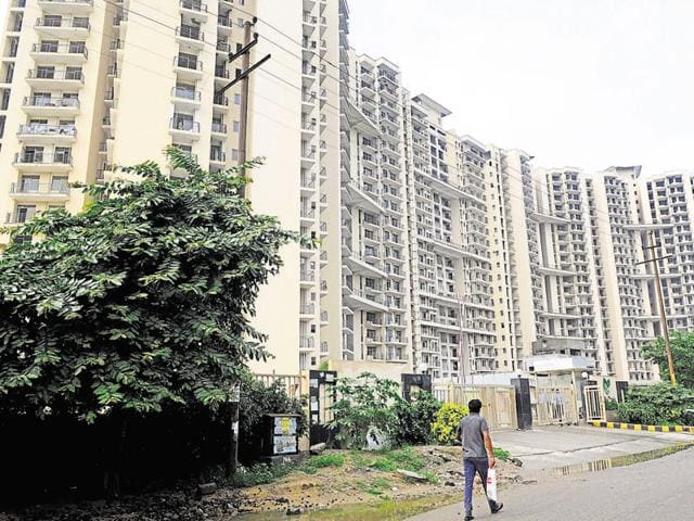 Buyers have objected to the Noida authority granting occupancy certificate to the project.