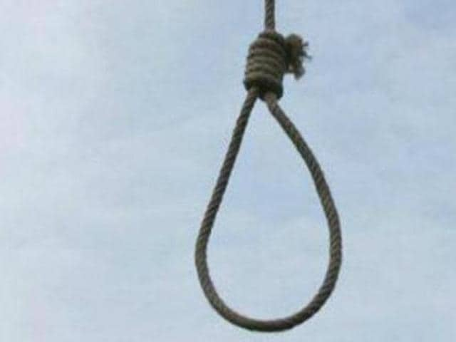 The woman was found hanging in the bathroom of her employer's house.