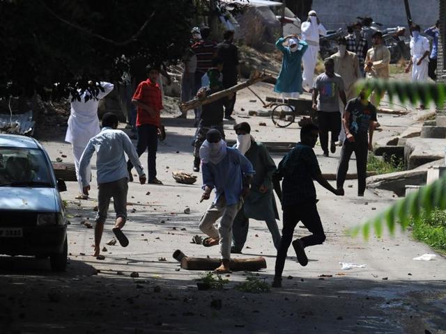 Kashmir unrest,ADC,Mob