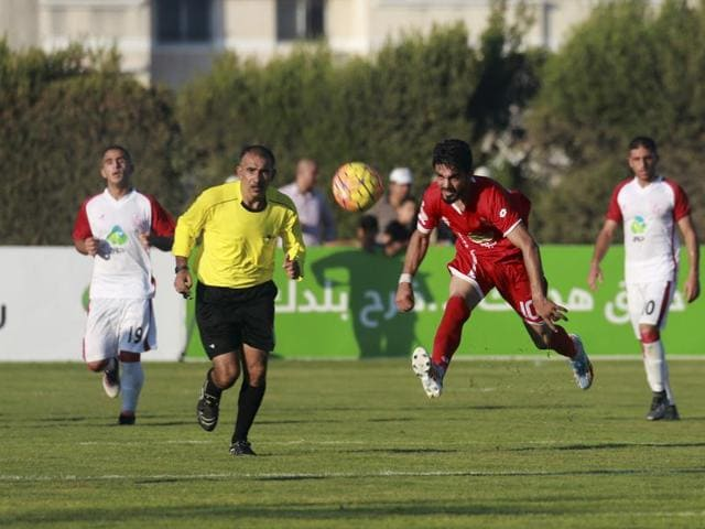 The first leg of the Palestine Cup was in Gaza on Tuesday which Ahli Al-Khaleel won 1-0. Seven players of the winning side were prevented from travelling by Shin Bet, the Israeli domestic intelligence agency.