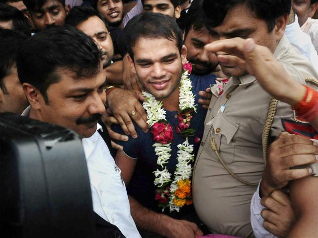Narsingh Pancham Yadav even trained for two hours on the day of his doping violation verdict.