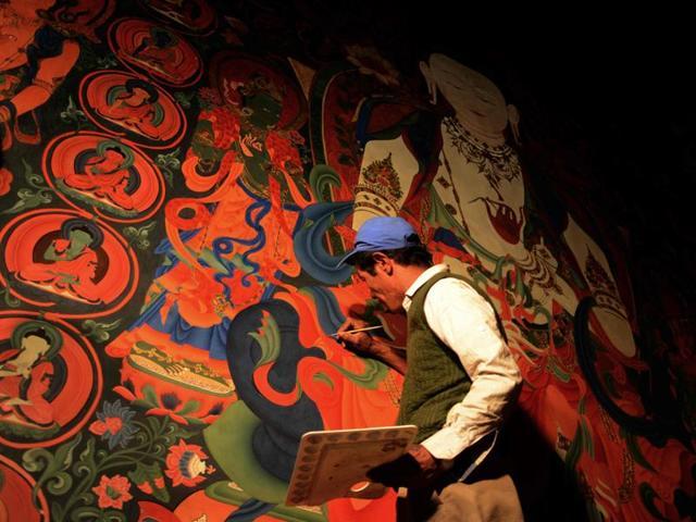 Tibetan shrines in Nepal,Cultural Revolution,China