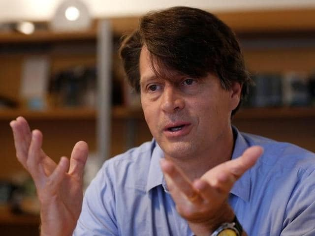 Niantic, game developer of Nintendo's smash hit Pokemon GO, chief executive John Hanke speaks during an interview in Tokyo, Japan.