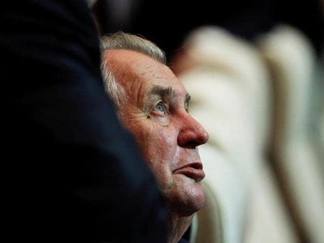 Czech,President Milos Zeman,Barbaric attacks