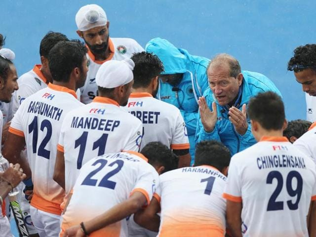 India coach Roelant Oltmans is unhappy with the facilities provided in the Games village.