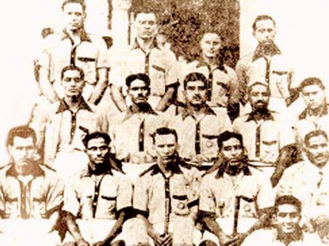 The 1932 Los Angeles Olympics gold-medal winning men's hockey team that had as many as seven players from Punjab.