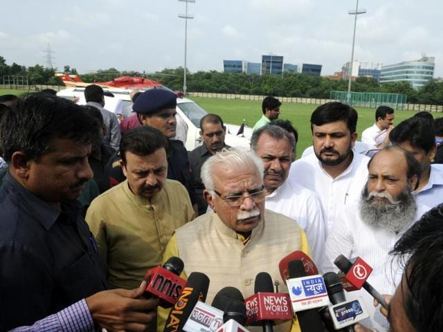 The Haryana government was supposed to announce the formation of GDA on November 1, Haryana Day, when the state turns 50. But after the recent gridlock and public outcry, the CM MLKhattar (above) may advance the announcement of the formation of GDA.