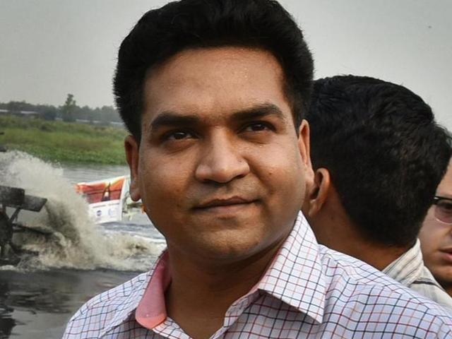 Delhi culture minister and AAP MLA Kapil Mishra.  Mishra has termed rapists as 'terrorists' and advocated 'killing them publicly' in a recent blog.
