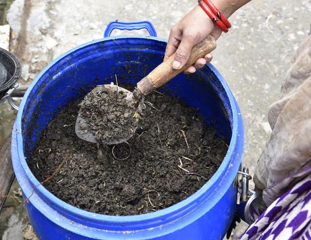 After initial reluctance, the residents agreed to participate in the project and eventually warmed up to the holistic management of waste in their area.