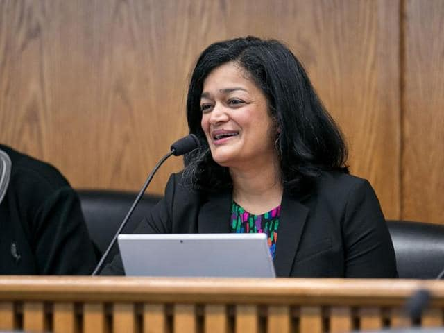 Born in India and raised in Indonesia and Singapore, Pramila Jayapal would be facing either of the two candidates she defeated in the open primary by more than 16%.